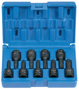 "Grey Pneumatic 1200T 3/8"" drive TORX impact socket set"
