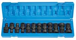 "GP1212U 3/8"" Drive SAE shallow swivel socket set"
