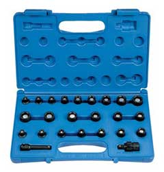 "GP 1224G 3/8"" Drive magnetic socket set"
