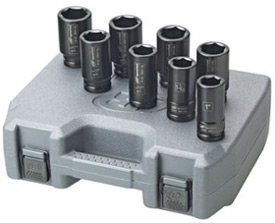 "Ingersoll-Rand SK6H8L 8pc. 3/4"" SAE deep socket set"