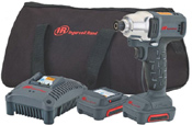 "Ingersoll-Rand W1110-K2 1/4"" hex impact wrench kit"