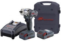 "Ingersoll-Rand W5130-K2 20 volt 3/8"" drive impact wrench kit"