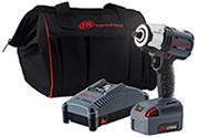 "Ingersoll-Rand W5152 20 volt 1/2"" drive impact wrench kit w/ one battery"