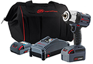 Ingersoll-Rand W5152-K22 20v 1/2' drive impact wrench kit with 2 batteries