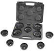 Lisle 61450 10pc cap-style oil filter wrench set